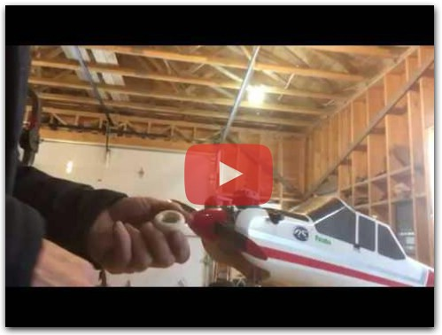 Make your own rc plane starter