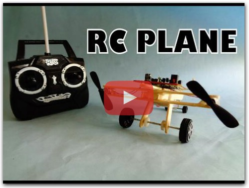 How to make RC toy Propeller Plane DIY