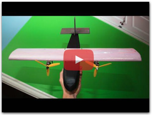 Mini Twin Speed Plane - RCTESTFLIGHT -