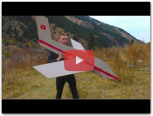 How to make MEGA CARDBOARD AIRCRAFT