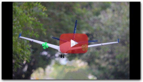 How To Make a Airplane - Flying Aeroplane