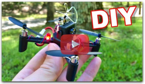 DIY FPV Drone - DM002 Build it Yourself