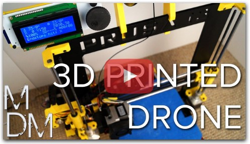 3D PRINTING A DRONE?! - 250 Racing Quadcopter MHQ2 Build