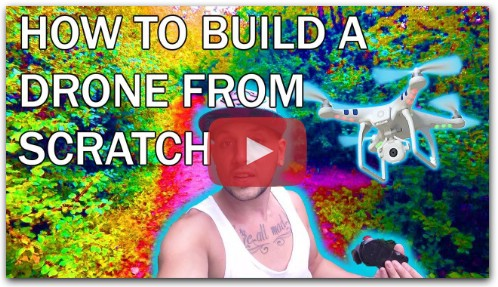 HOW TO BUILD A DRONE FROM SCRATCH (VLOG)
