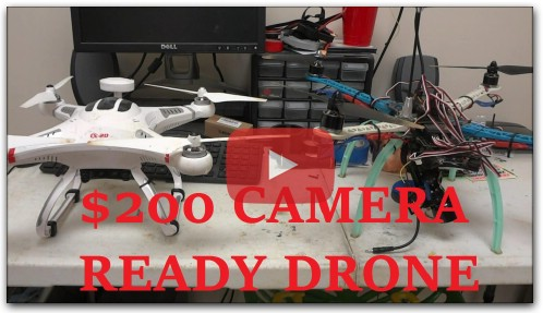 A $200 Camera Ready Drone - Build or Buy?