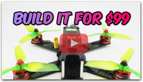 How to build a Pro FPV Racing DRONE for ONLY $99