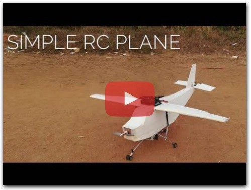 How to make rc plane m4 tec diy