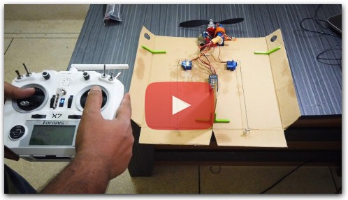 How to Make a Cardboard RC Plane