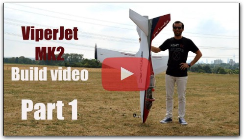 VIPERJET MK2 RC airplane build video, Part 1