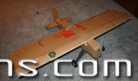 Big Cardboard RC Airplane