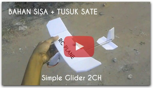 How to make Simple micro RC Glider