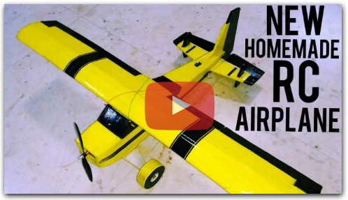 HomeMade Remote Control Plane with Fpv camera | 6 channel | India