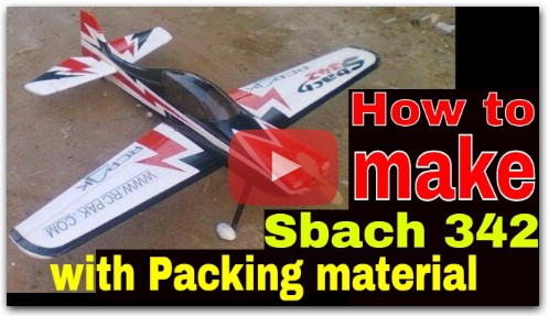 How To Make RC Plane With Foam Part 2