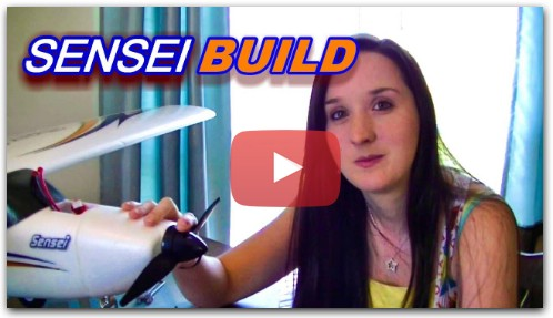 How to Build the Sensei RC Trainer Plane