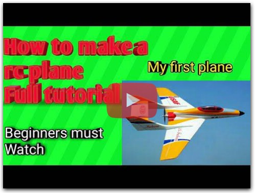 How to make a first RC plane