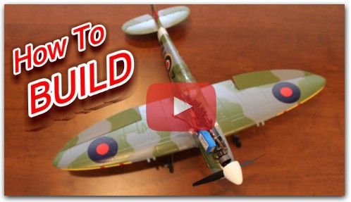 How to Build the AirCore Power Core and Spitfire RC Plane