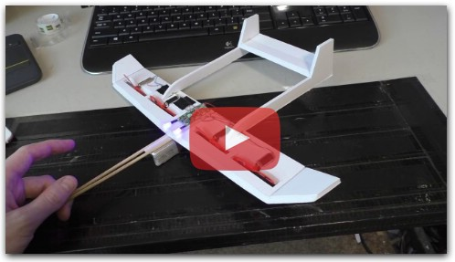 Making a mini RC airplane how to make an airplane — RC Plans