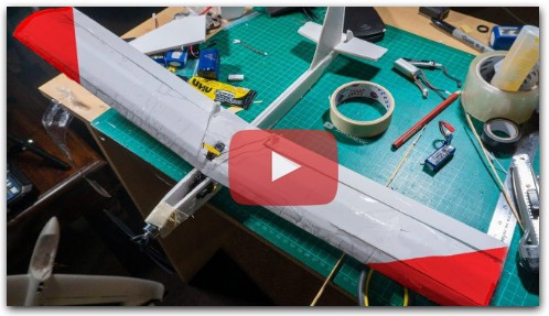 Making a mini RC airplane