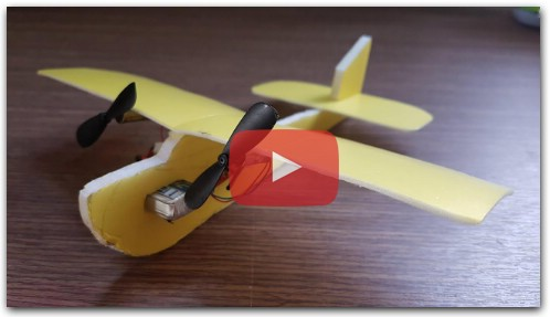 How to make a Airplane RC Mini