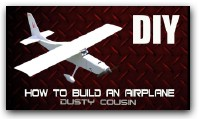 HOW TO BUILD AN RC AIRPLANE (KP Dusty cousin) for beginners