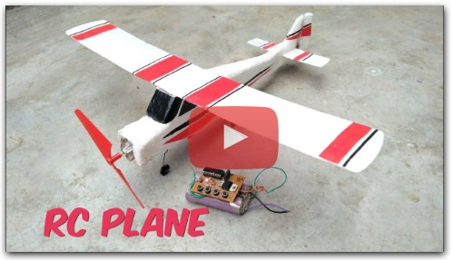 How To Make RC Air Plane from RF receiver