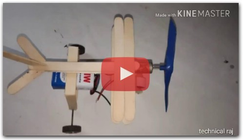 HOW TO MAKE RC PLANE AT HOMEMADE