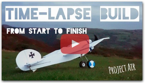 RC Plane (FT-Scout) Time-Lapse/Montage Build!