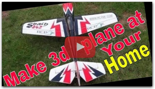 How To Make RC Plane With Foam