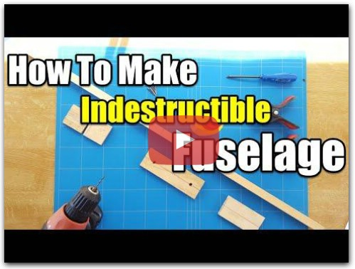How To Make a Indestructible Fuselage - $5