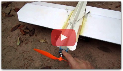 How to retrofit your foam 3D RC plane to make it (almost) crash-proof