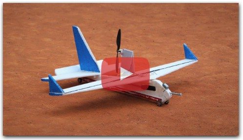 How to make a pusher RC airplane - airplane