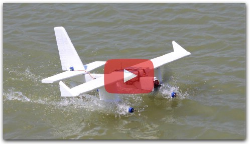 How to make a airplane - flying plastic bottle aeroplane