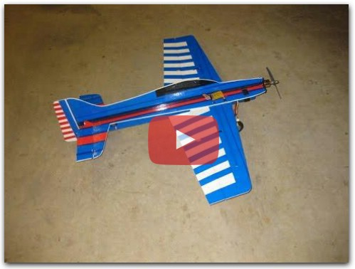 How to build profile rc plane easily.