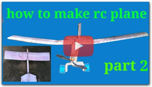 how to make rc plane hindi