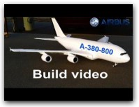 AIRBUS A380-800 Depron RC AIRPLANE BUILD VIDEO BY (RAMY RC)
