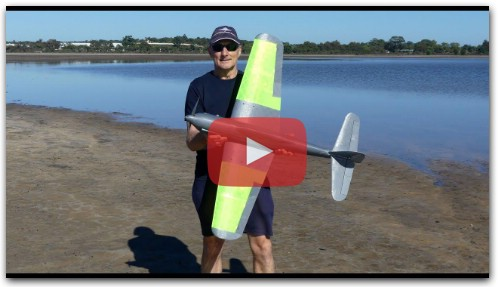 Aichi M6A Seiran 3d printed RC plane maiden flight