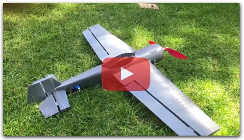 3D Printed RC Plane Fail