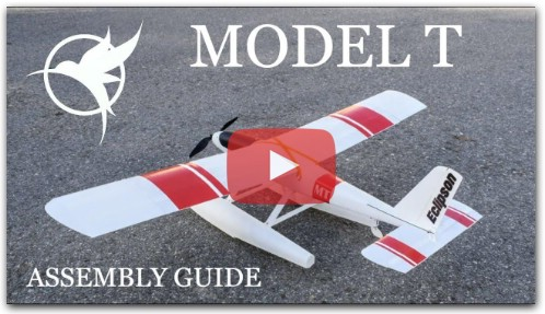 3D printed RC seaplane -Assembly guide