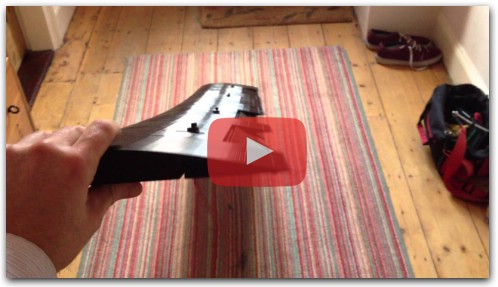 3D printed plane wing with ailerons and flaps
