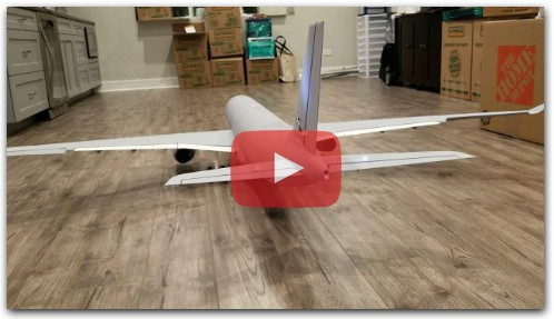 3D Printed RC A330 - Control Surfaces