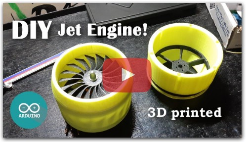 3D Printed Jet Engine