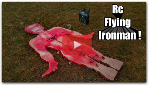 How to make a Rc Plane - IRONMAN Shaped