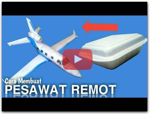 How to make rc plane Membuat Pesawat remot PIPERJET dari NOL