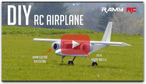New RC airplane from scratch by RAMY RC