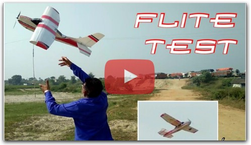 Rc plane flying : How to make rc plane