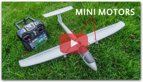 From free flight glider to a serious RC airplane
