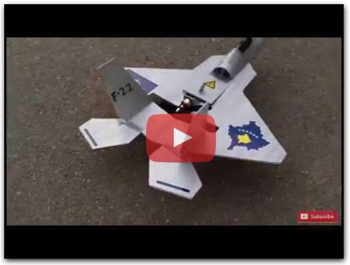 How to make F-22 Rc plane