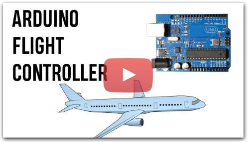 Arduino Flight Controller for RC Plane