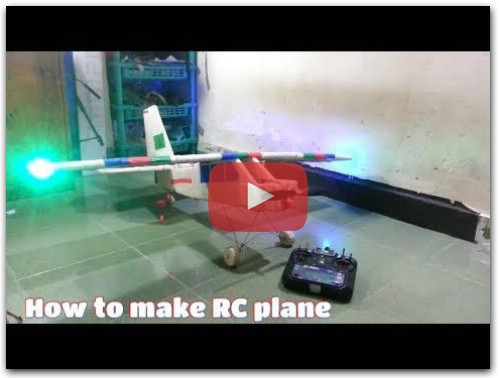 Home made rc plane