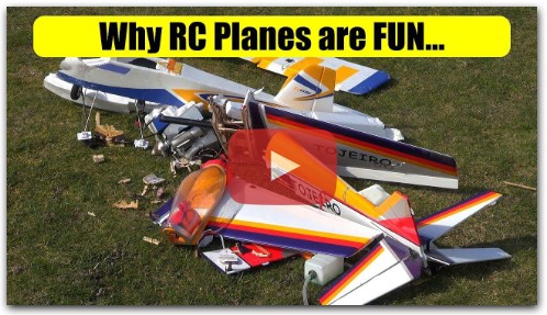 RC planes and old men, what could possibly go wrong?